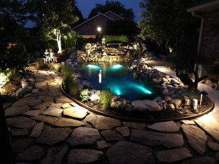 Low Voltage Lighting Koi Pond